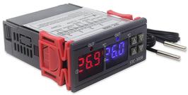 Termostat dvojni STC-3008