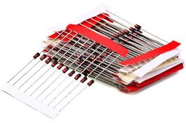 Zener diode 14 vrednosti, komplet 140 kosov