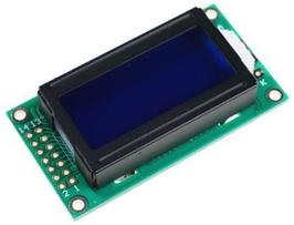 LCD 8x2 karakter moder