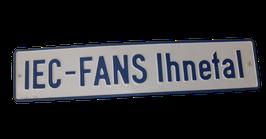 """Autoschild """"IEC - Fans Ihnetal"""""""