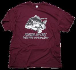 NB T-Shirt Heavy Cotton maroon