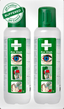 725200 - Cederroth Eye Wash 500ml, 2 Stk.