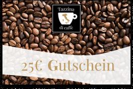 25 € Gutschein