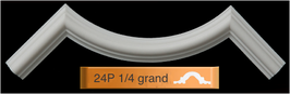 Quart de cercle 24P 1/4 grand