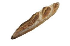 Sourdough baguette - 400 gr
