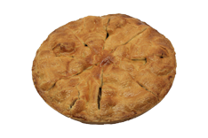 Classic Apple Pie - voor 8 tot 10 personen