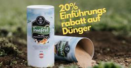 Tenefert - der BIO Mehlwurm Dünger