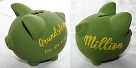 """Spar-Schwein """"Grundstein für die erste Million"""""""