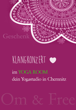 Geschenkgutschein für die Veranstaltung 'Klangkonzert' 120 min