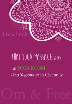 Geschenkgutschein Thai Yoga Massage 60 min