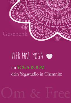 Geschenkgutschein Yoga