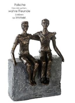"""Skulptur """"wahre Freunde"""""""