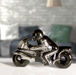 Skulptur Motorrad Casablanca