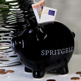 Sparschwein Spritgeld