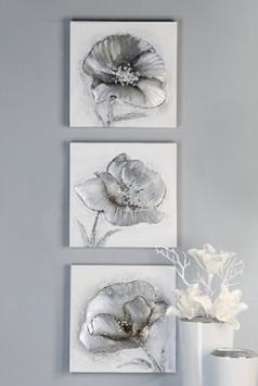 Ölbild Flowers