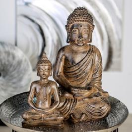 """Buddha """"Holzoptik"""""""