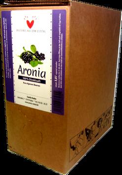 Aroniasaft 3,0 Liter Bag-in-Box