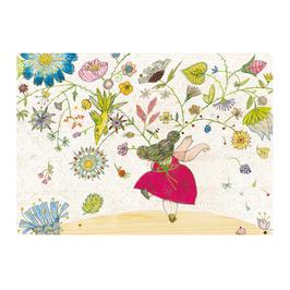 Postkarte Blühende Zweige