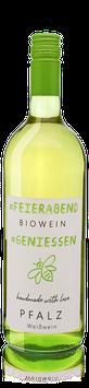 Bio Literwein FEIER ABEND Cuvée (Riesling & Traminer) feinherb