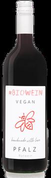 Bio Literwein Rot feinherb Cuvée (Portugieser, Dornfelder)