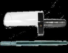 Handgriff mit Einsatz/Manico con supporto
