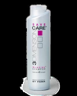 Шампунь для защиты цвета волос с холодным оттенком GLACIAL SAVE BY FAMA