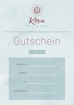 Gutschein (digital)