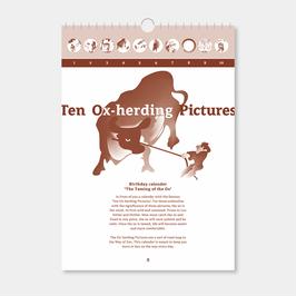 Ox herding Pictures calendar
