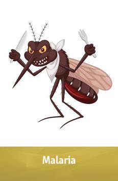 "Karte ""Malaria"""