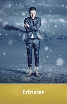 "Karte ""Erfrieren"""