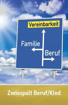 "Karte ""Zwiespalt Beruf/Kind"""