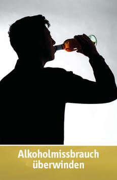 """Karte """"Alkoholmissbrauch überwinden"""""""