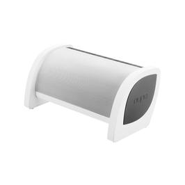 Nyne Bass Portabler Outdoor Bluetooth NFC 20 Watt Lautsprecher Weiß mit Freisprechfunktion