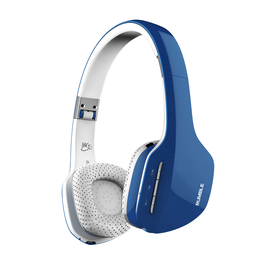 MEE audio AF80 Rumble Enhanced Bluetooth Kopfhörer Blau