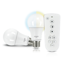 LED Leuchtmittel Set (E27) als dimmbares Akzentlicht
