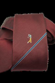 Krawatte mit Golfspieler (GK005)