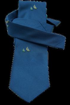 Krawatte mit Segelschiff (MK018)