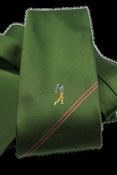 Krawatte mit Golfspieler (GK008)