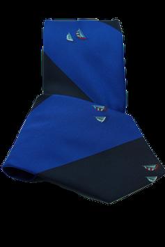 Krawatte mit Segelschiff (MK019)