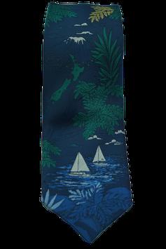 Krawatte mit Segelschiff (MK015)