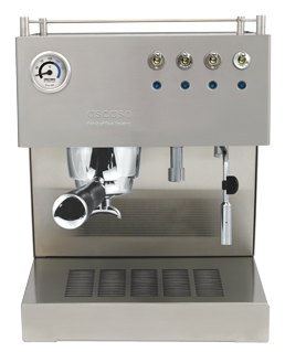 Cafetera Steel (Modelo: Duo Prof)