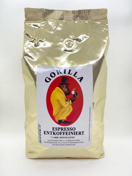 Gorilla Espresso Delicato Entkoffeiniert