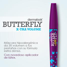 MÁSCARA DE PESTAÑAS BUTTERFLY XTRA VOLUMEN