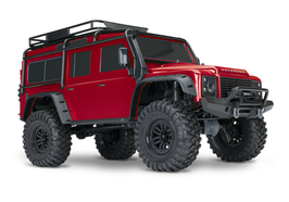 NEU:  TRX4 LAND ROVER - RTR - Metallic-RED