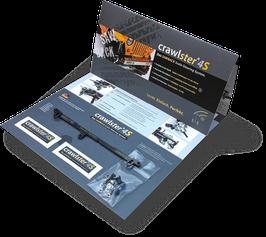 crawlster®4S LenkSystem – Gmade/GS01, Sawback Komodo