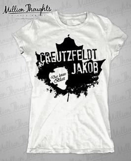 """Das letzte Blatt"" Girlie T-Shirt"
