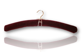 "Padded hanger ""Red Velvet"""