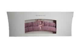 Luxury hanger Satin mauve
