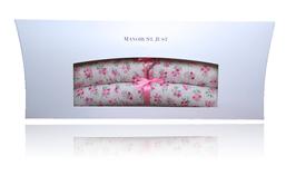 """Cintre d'enfant """"petites fleurs rosé"""""""