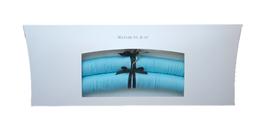 Luxury hanger  Satin bleu